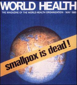 Eradication of smallpox